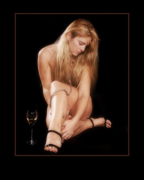 JerryCliftonProductions - Christina and Wine Glass